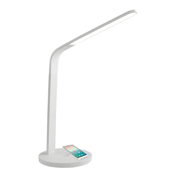 Portable iphone rechargeable tactile dimmable pliant sans fil chargeur led table lampe de bureau avec recharge sans fil