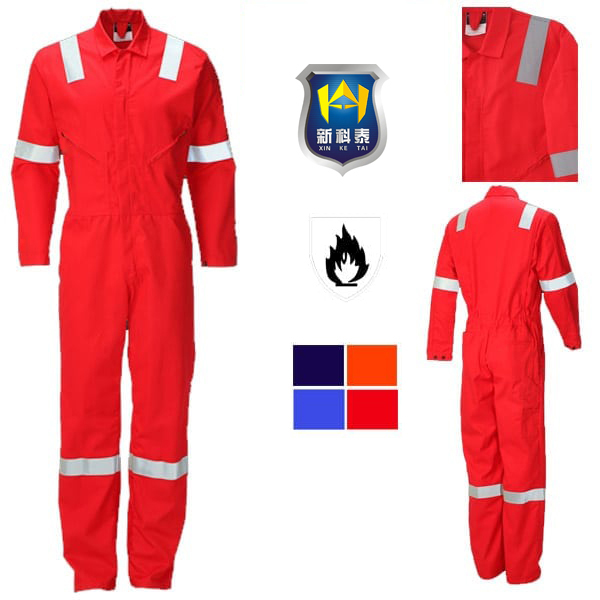 Original factory supply 100% Cotton Heavy duty safety durable red wing coverall
