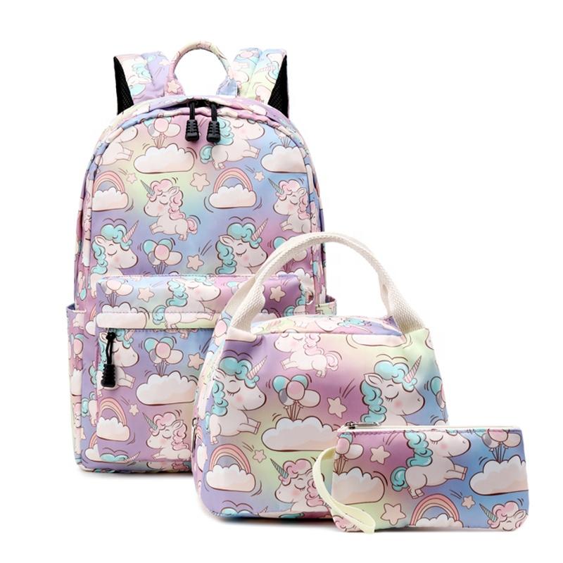 Venta al por mayor mochilas escolares lindos para niñas
