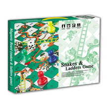 Custom Kids Magnetische Schaakspel <span class=keywords><strong>Ludo</strong></span> Snake en Ladder Bordspel