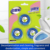 High quality 3ps toilet cleaning block Blue bubble