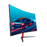 24 inch 1k curved screen pc monitor narrow border led smart computer monitor desktop cheap lcd monitor 60hz 75hz 144hz