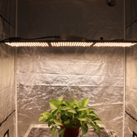 320w samsung quantum led board grow light, epistar 660nm red and lm301b KingBrite grow light