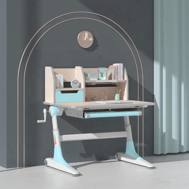 IGROW  children study desk high quality adjustable kids desk  for students