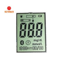 Goedkoopste Custom 10 digit <span class=keywords><strong>TN</strong></span> <span class=keywords><strong>LCD</strong></span> display 7 segment <span class=keywords><strong>lcd</strong></span>