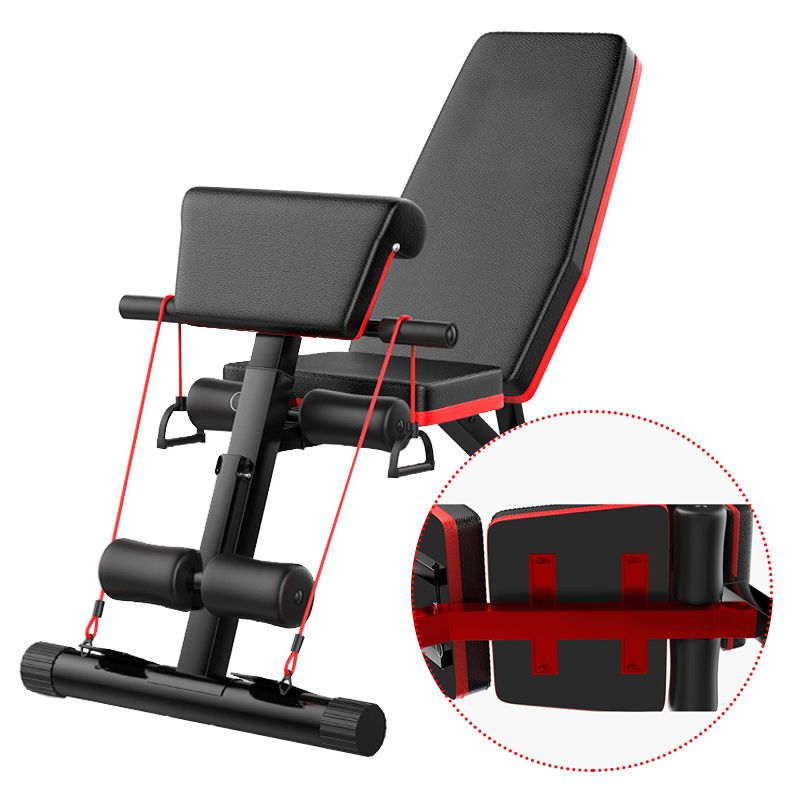 incline decline dumbbell bench for gym stainless steel chest bench press with <strong>weights</strong>
