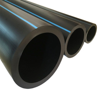 Factory 16mm-1000mm PN8- PN20 Polyethylene PE Water Supply Drainage Plastic HDPE Pipe
