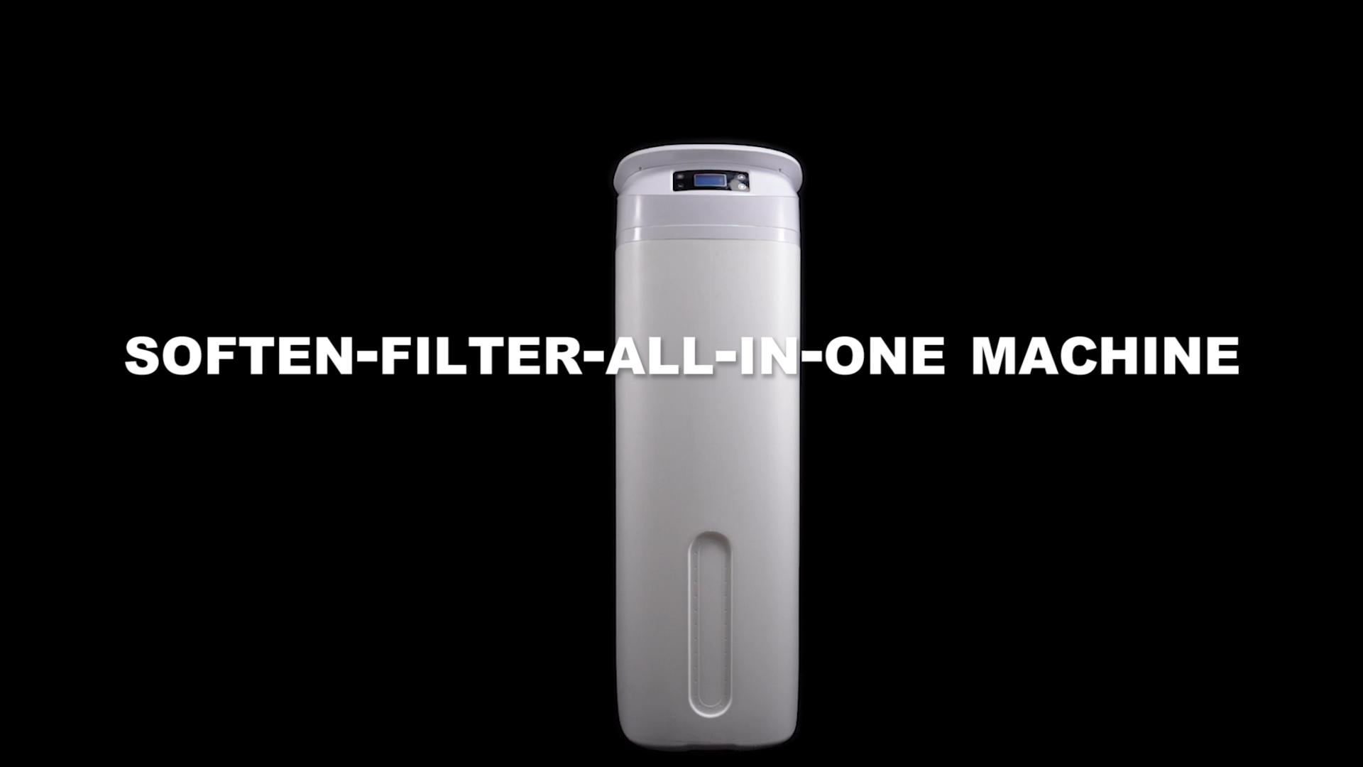 Slim Compact Alloys Metal Base Eco Friendly Volumetric Espresso Machine Water Softener Meter for Coffee