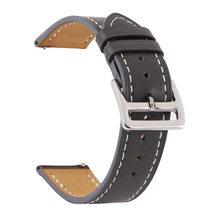 Ремешок для часов из натуральной кожи 18 мм 20 мм 22 мм 24 мм Пряжка из нержавеющей стали для мужчин и женщин Сменные аксессуары для часов(China)