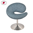 Factory Supplying Stainless Steel Modern Leather Mini High Leisure Chair Stool For Dining