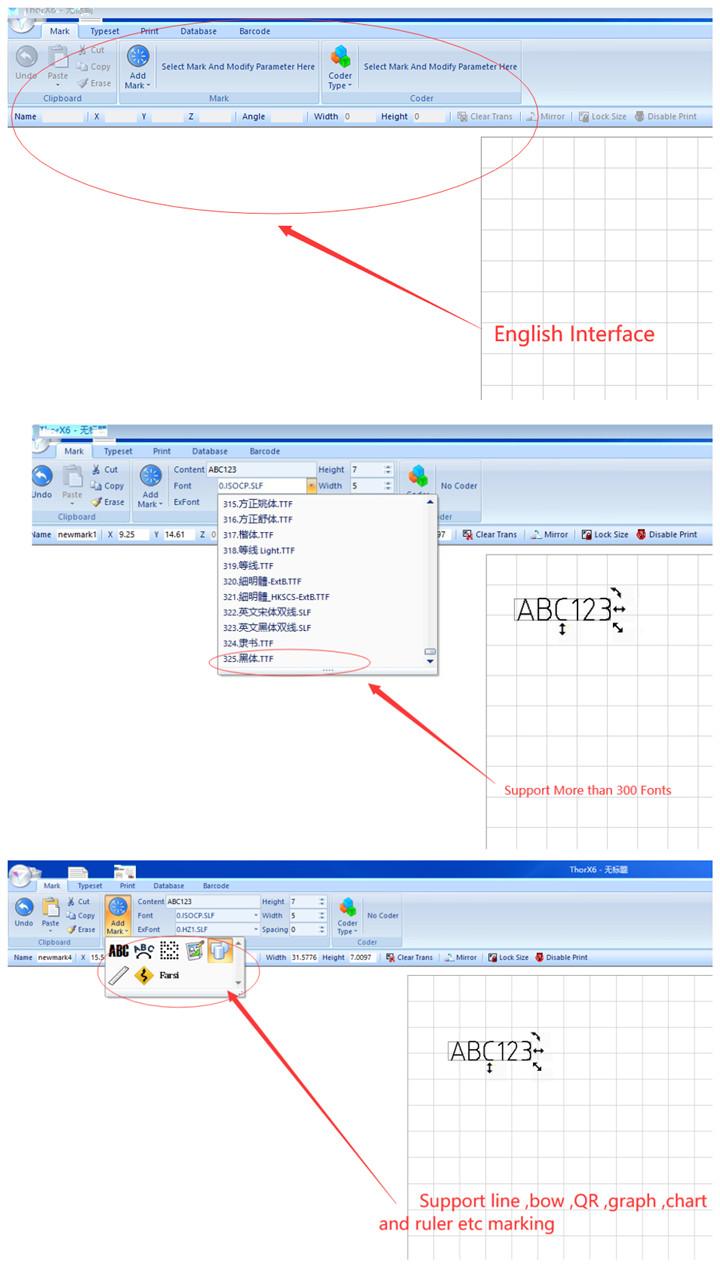 Marking Software ...