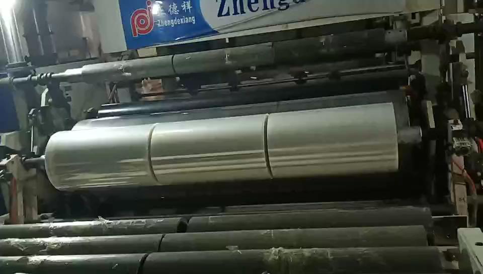 עמיד LLDPE ברור מכונת למתוח לעטוף