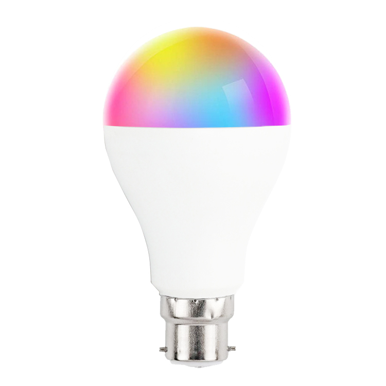 2019 HOT smart home verlichting draadloze WIFI RGB cct led verlichting led wifi E27 smart kleur gloeilamp gemaakt in china