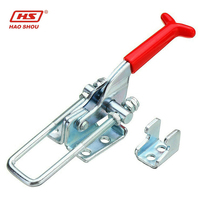 HS-431 Quick release Latch type adjustable toggle clamp with U hook heavy duty clamp 318kg capacity Destaco 331