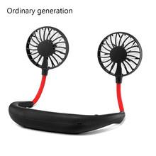 Портативные мини-вентиляторы без рук, вентилятор с воздушным охлаждением, USB Перезаряжаемый вентилятор, маленькие настольные вентиляторы, ...(Китай)