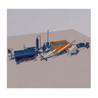Waste Tire Pyrolysis Recycling Plant With CE