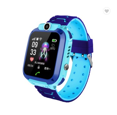 Q12 Children Watch IP67 Waterproof SOS GPS Intelligent Monitoring Calling kids Smart Watch with <strong>sim</strong>