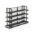 White color Double sided Back Wire grocery store racks for sale