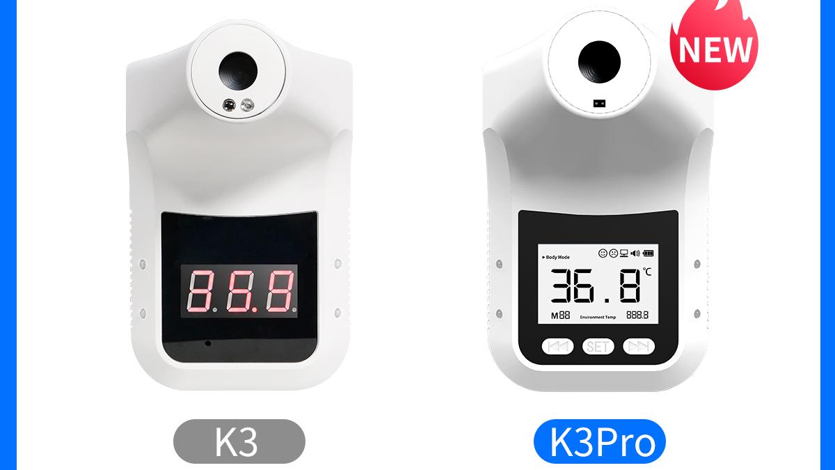 k3pro temperature check device human body sensor measuring body temperature