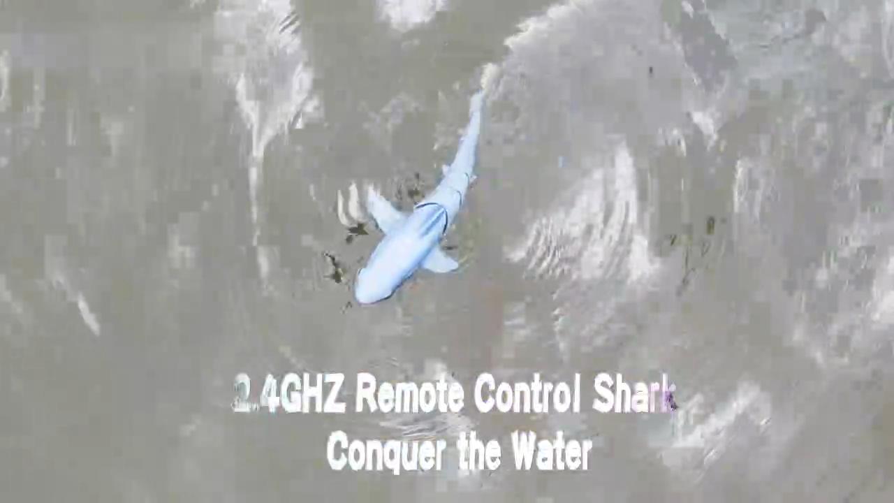 Swimming speed mini fish simulation toy remote control shark