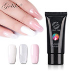 Quick building poly gel nails extension uv gel