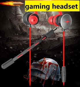 3.5Mm Wired Stereo Gaming Headset 7.1 Waterproof Sport Mobile Phone Accessories Headset With Microphone