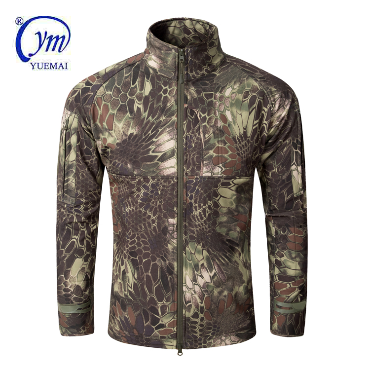 New <strong>Style</strong> Wholesale Customized <strong>Military</strong> Army Sport Softshell <strong>Jacket</strong>