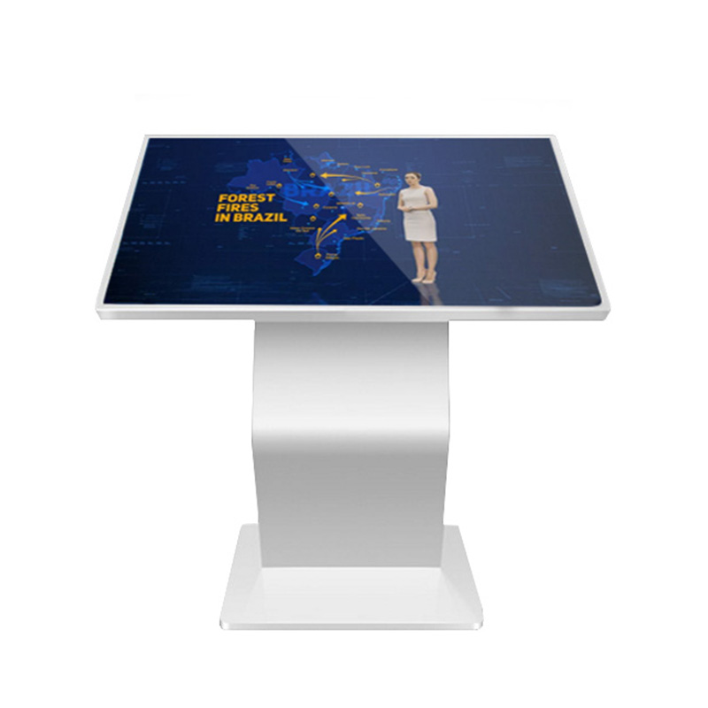 China Indoor 18.5 Inch 42 49 55 65 Screen Black Android White Light Customized Monitor Advertising Display