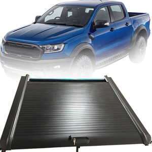 Car  accessories for ford ranger Roller lid Up truck Pick up bed cover aluminium Alloy tonneau cover For Ford Ranger