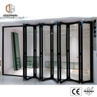 Cheap Factory Price aluminium glass folding doors door sliding