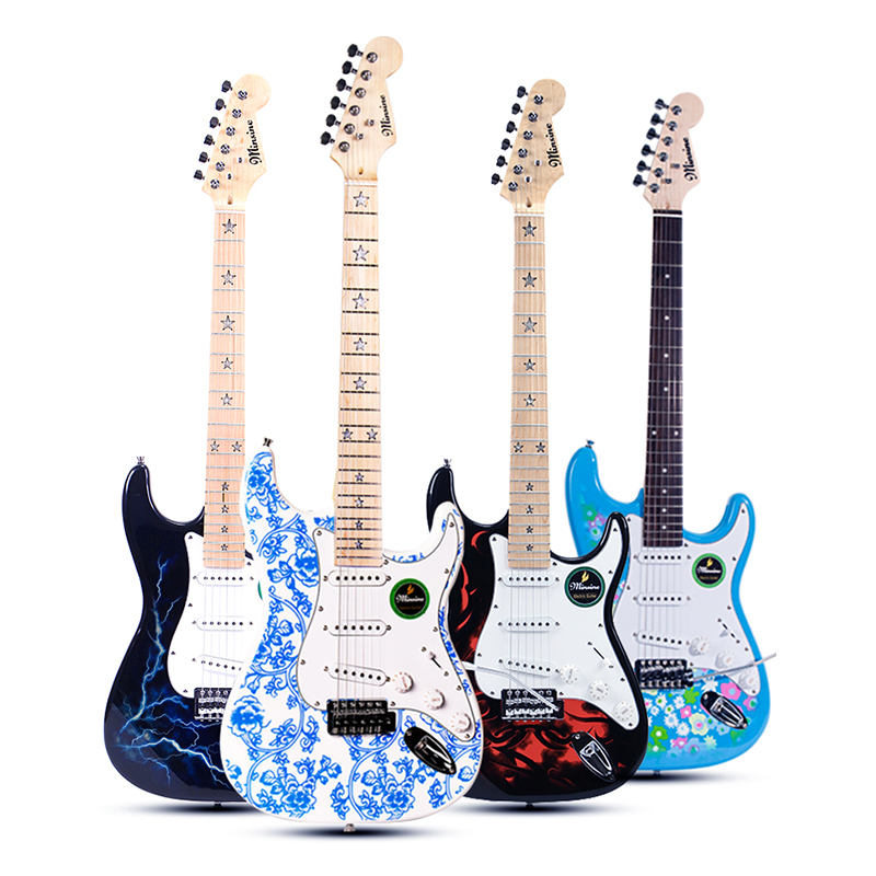 Trending now Electric Guitar with good sound and nice look for Beginners or Professional Performance