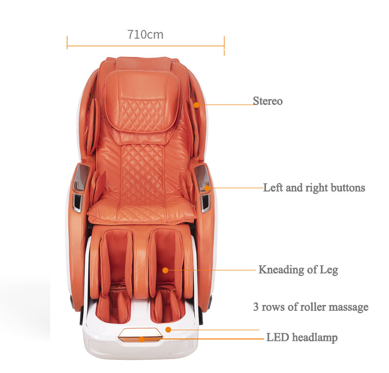 Wholesale remote control massage chair zero gravity black