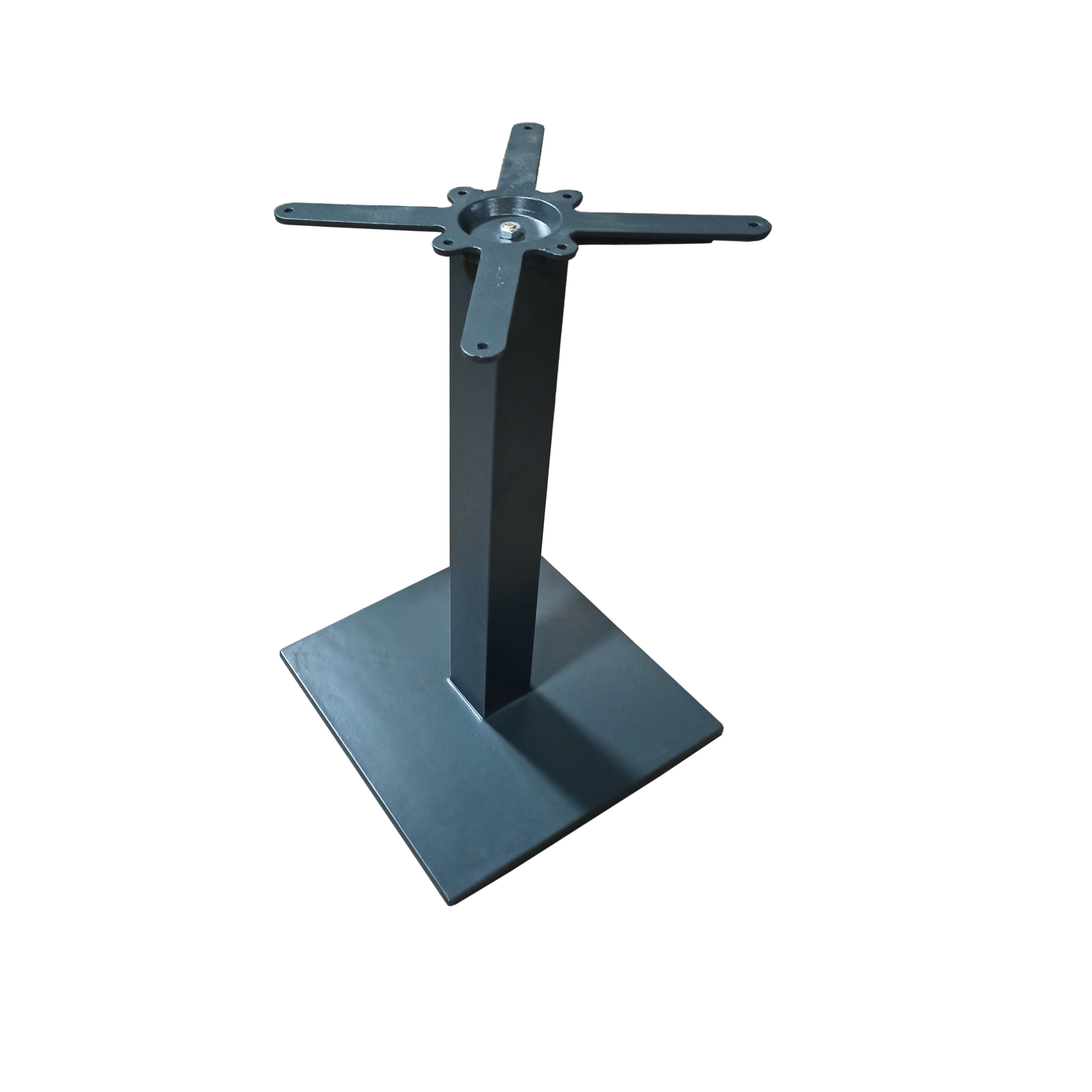 cast iron square table base ral7016