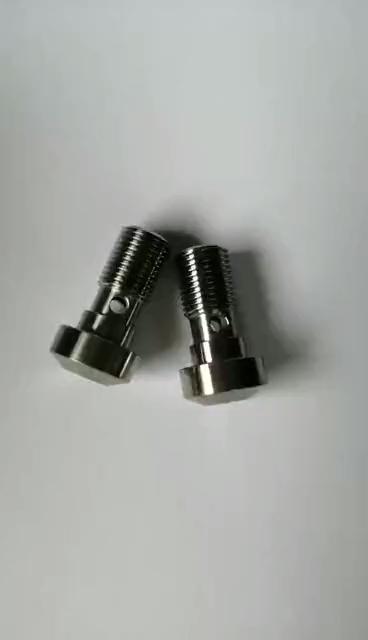 Cnc usinado personalizado usinagem de peças de titânio