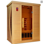 Sauna Wood Wood Sauna Room 3 People Sauna Wood Dry Steam Room Manufacturer