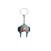 Cool style keychains cartoons one piece of metal key ring used for keys