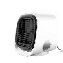 Портативный кондиционер, портативный мини-охладитель воздуха, кондиционер, светодиодный светильник, увлажнитель, очищает вентилятор возду...(Китай)