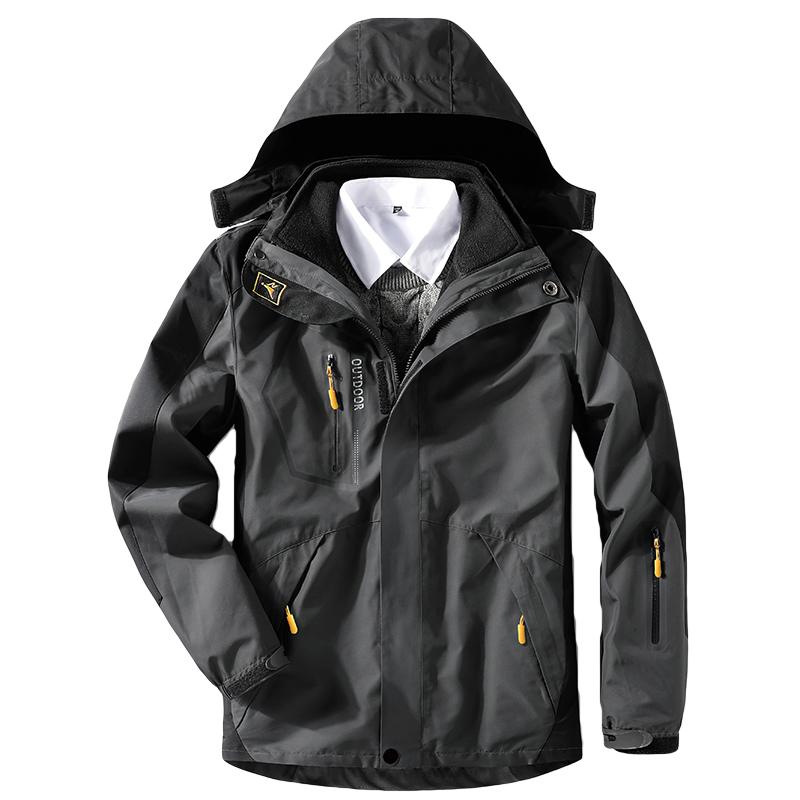 Amant imperméable à capuche camouflage veste veste de ski hiver chaud manteau