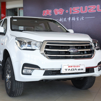 Hot sale and good quality isuzu TAGA 2wd pickup with double cab pickup trucks for sale