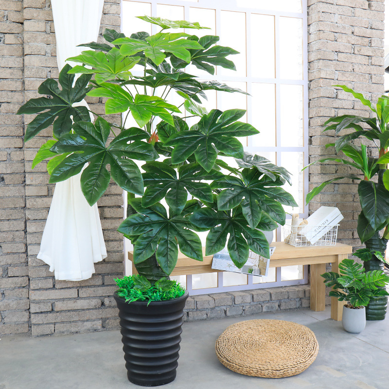 A-487 140cm 160cm Wholesale Cheap <strong>House</strong> Garden Indoor Decorative Plastic Artificial Palm Plants <strong>Trees</strong>