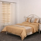 Warm design polyester rayon sheet set luxury bed scarf hotel bed runner set