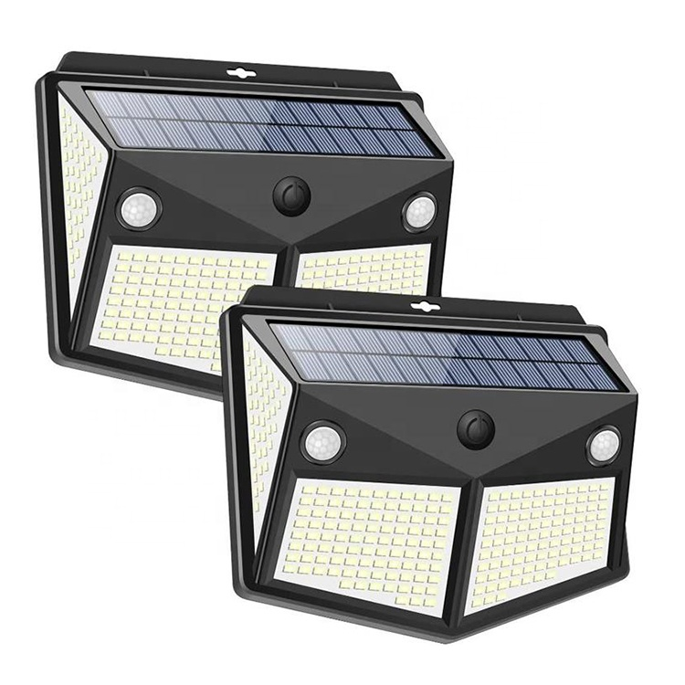 DIFUL Led Solar Outdoor Lights 280 Garden Lamp CE Path Street Waterproof Security Motion Sensor Solar Farm Lights Outdoor