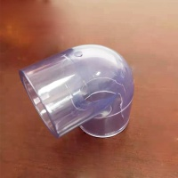 3 Inch Bulk Clear PVC Pipe And PVC Cheap Water Pipe Fittings 90 Degree Elbow