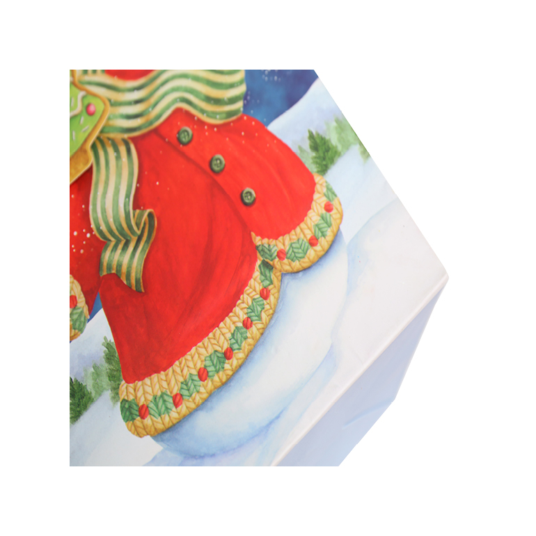 Wholesale Holiday Shopping Bags, Elegant Christmas Lovely Snowman Gift Paper Bags