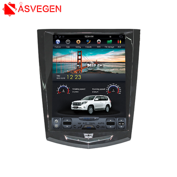Tesla Style Android Car DVD Player GPS Navigation Radio Receiver For Cadillac ATS SRX XTS 2013 -2016 With Wifi Bluetooth