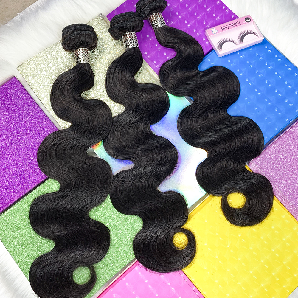 JcXBL Raw Indian Hair Directly From India Natural Wave Hair Extensions Cheap Remy Virgin Human Hair bundles