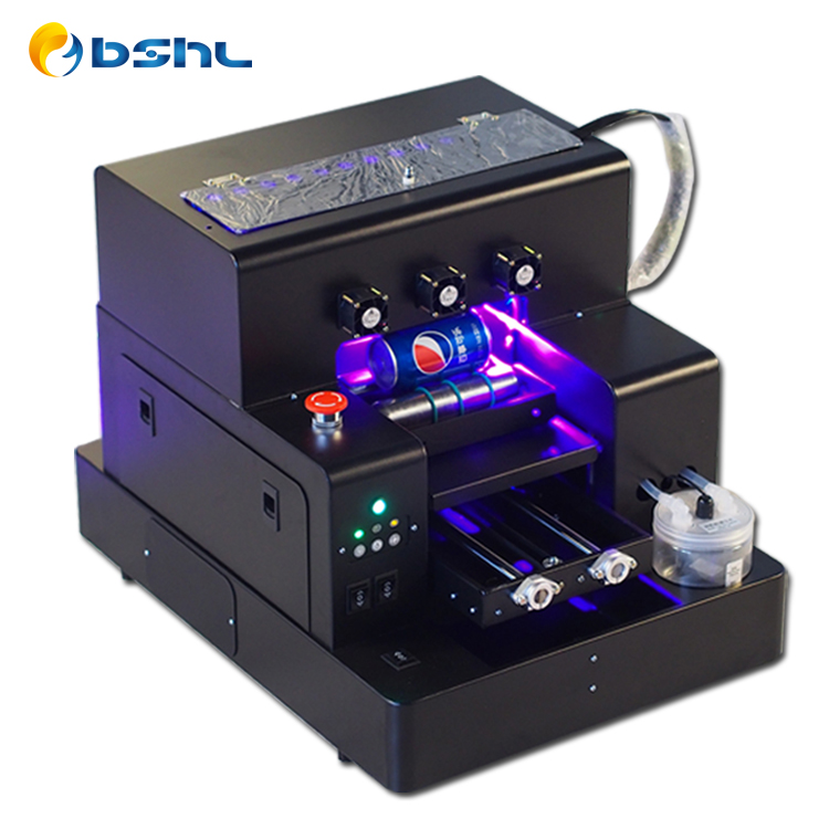 HL-4BUV Fabrikant direct verkoop mini 3d a4 uv printer voor alle flatbed items