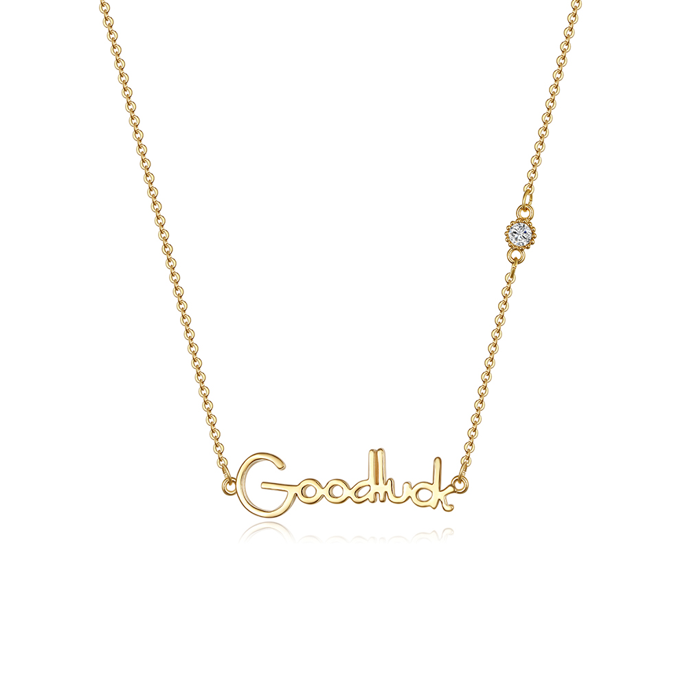Big promotion at the end of the year Customized personalized girls Alphabet necklace