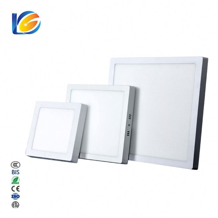 Custom Lighting Solutions Slim 20W Lights Studio Double Color Square Led Panel Light With Remote