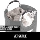 Laundry For Bag Hospital Laundry Baskets For Bedrooms Hampers Large Laundry Bag With Padded Handles Hotel Hospital Travel